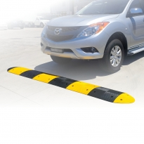 rubber speed humps by abbas line marking