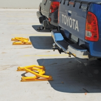 parking space protectors by abbas line marking