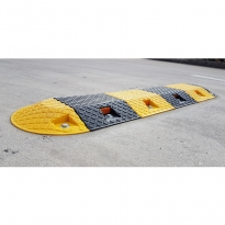 plastic speed humps by abbas line marking
