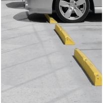 plastic wheel stops by abbas line marking