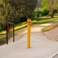 removable bollards by abbas line marking