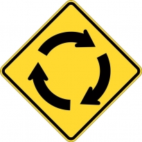 warning signs by abbas line marking