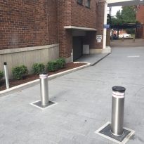 automatic bollards by abbas line marking